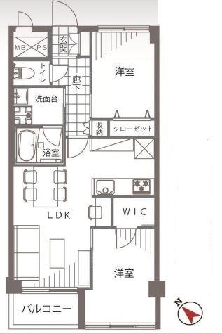 マンション目黒苑-3F