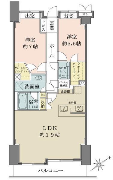ライオンズマンション乃木坂_5F